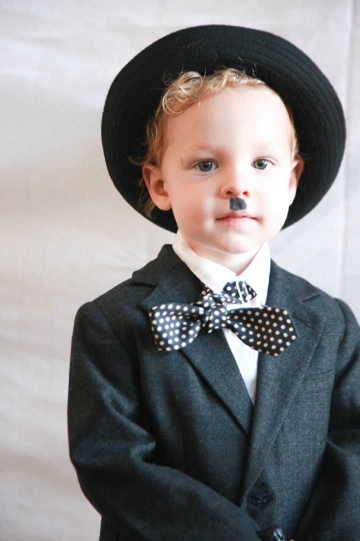 Charlie Chaplin – DIY Kids Halloween Costume