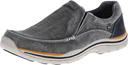 SKECHERS Men's Expected - Avillo Blue Loafer 11 D (M) - http://all-shoes-online.com/skechers-3/11-d-m-us-skechers-usa-mens-expected-avillo-relaxed-3