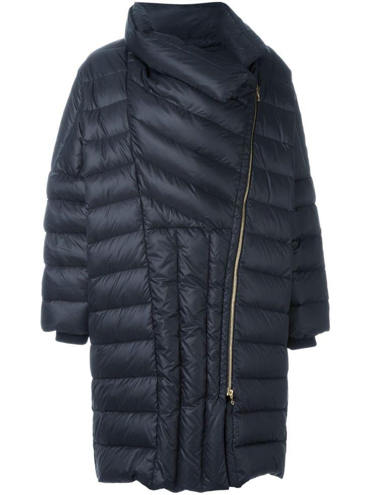 Lanvin abrigo oversize acolchado