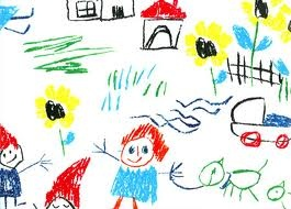 In my garden we have a lot of small houses for the baby, dog, pixies, flowers....but my parents have forgotten a house for me. Viola, 7 years