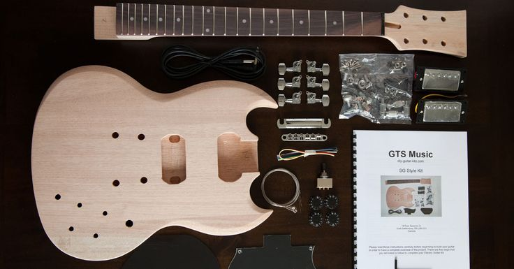 We take a look at the best websites to buy DIY guitar kits. If you want build your own guitar but don't have all of the expensive tools, this is the way!