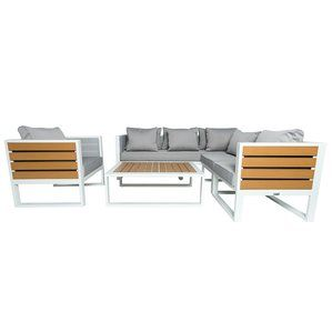 Twerton Outdoor Sectional with Cushion