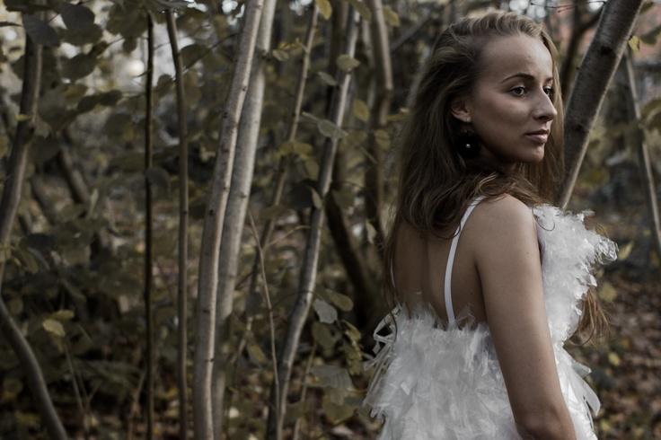 Nature's white #odderhojskole #design #clothes
