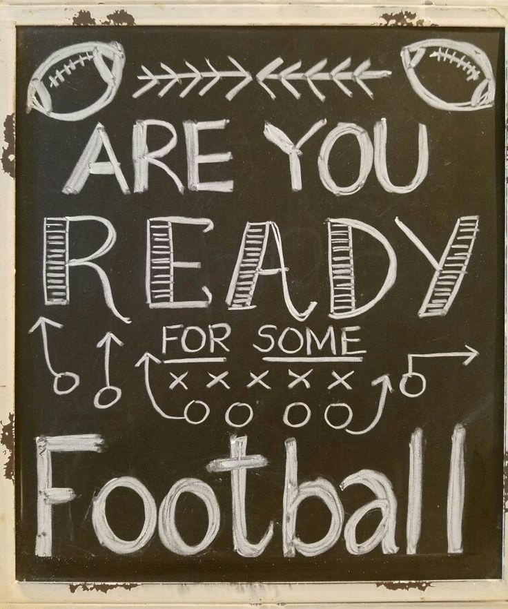 Fall chalkboard art, autumn, football fan                                                                                                                                                     More
