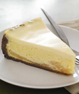 Gingersnap (cookie crust)-Pear Cheesecake  I make this for ALL my friends Bdays. So easy and insanely delish especially if you are not a cheesecake fan...you will be!