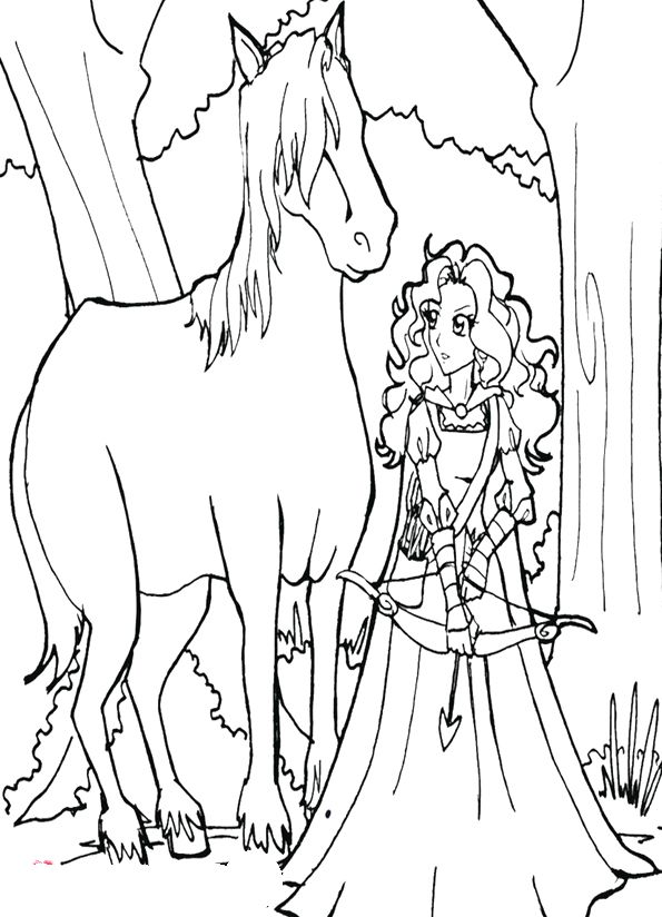 princess horses coloring pages - 1000 images about cool coloring pages on pinterest
