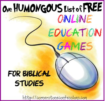 One Humongous List of Online Education Games - Cornerstone Confessions