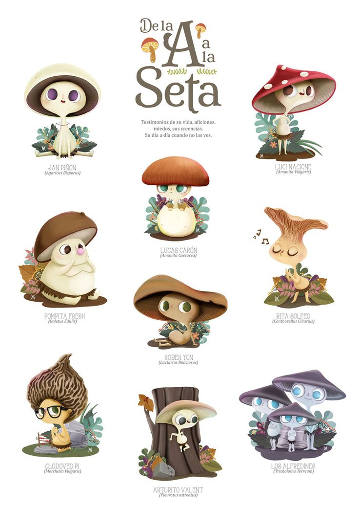micología-de-la-a-a-la-seta ★ || CHARACTER DESIGN REFERENCES (https://www.facebook.com/CharacterDesignReferences & https://www.pinterest.com/characterdesigh) • Love Character Design? Join the #CDChallenge (link→ https://www.facebook.com/groups/CharacterDesignChallenge) Share your unique vision of a theme, promote your art in a community of over 30.000 artists! || ★