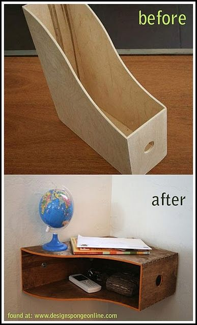 storage idea for corners