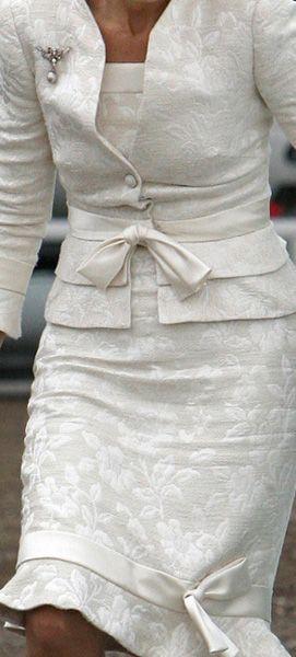 Dubai - Queen Maxima - Valentino, deze jurk droeg ze voor het eerst bij de doop van Amalia