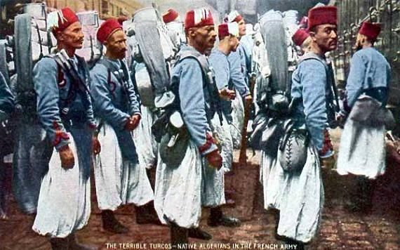 Native Algerians In The French Army
