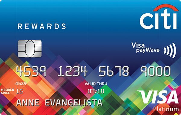 Online Apply Citi Rewards Card  Reward card, Credit card reviews