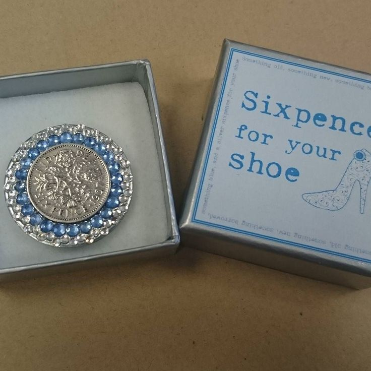 Shoeclip Sixpence