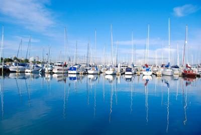 Midday Reflections, at Bayswater Marina on the North Shore, Auckland. The photo was taken by Lily Fraser.