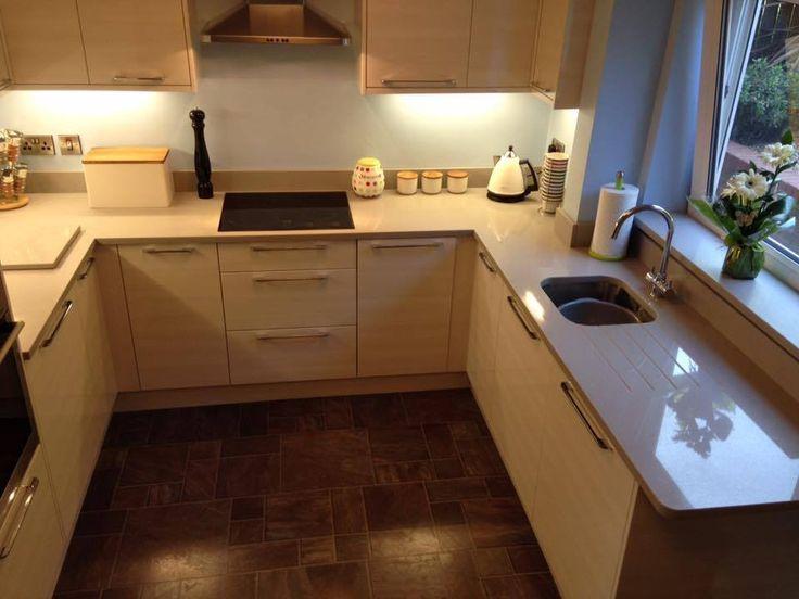 Silestone Concreto Light Quartz Kitchen Worktops Worktop