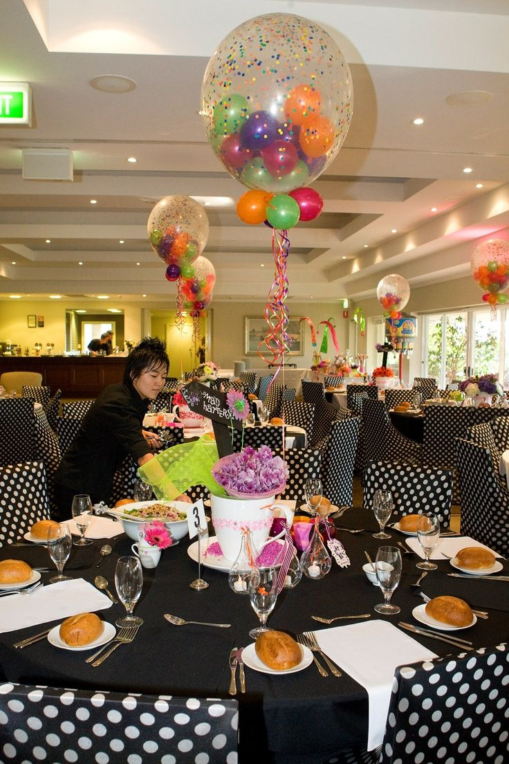 Mad hatter tea party decoration ideas - Mad Hatter Tea Party Ideas How Awesome Are Those Balloons