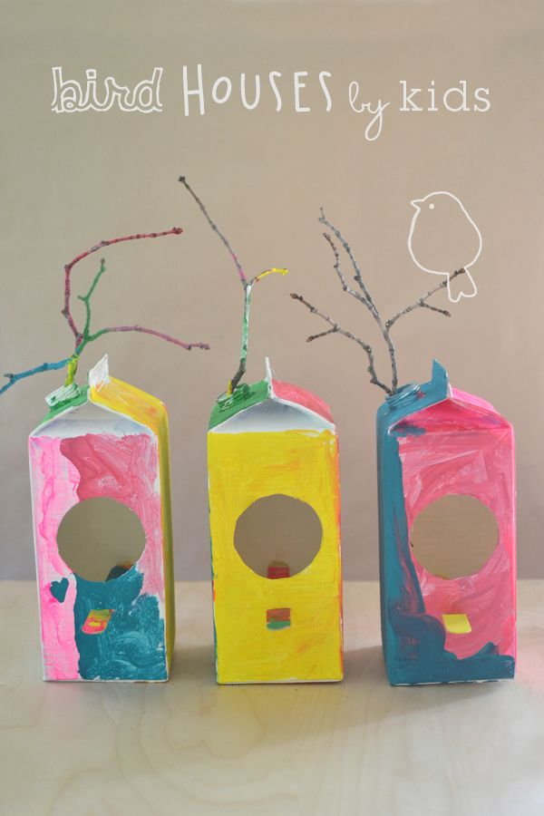 17 Best Ideas About Bird House Crafts On Pinterest