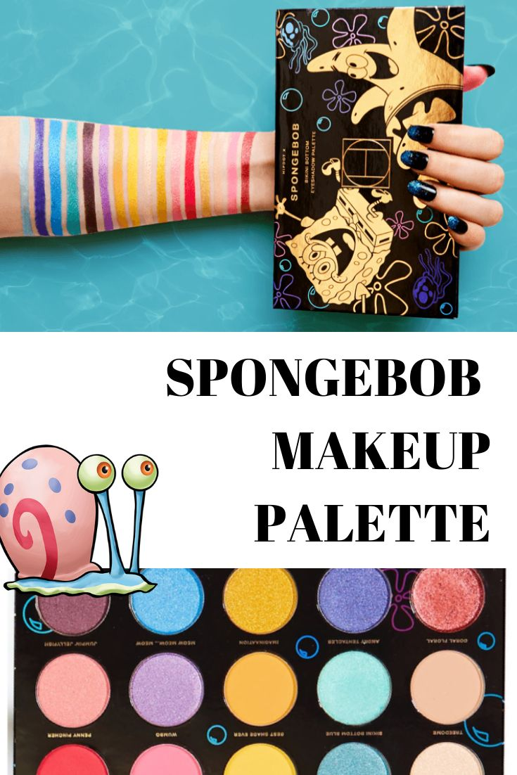 Are You Ready, Kids? SpongeBob SquarePants Makeup is