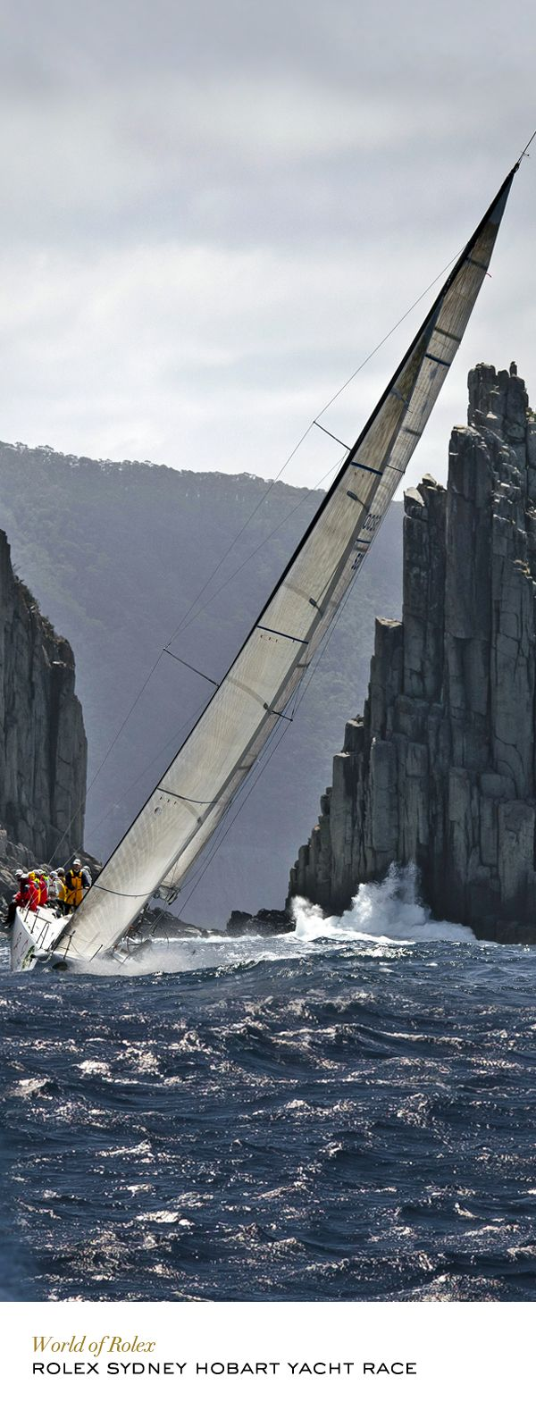 As one of the world's toughest offshore yacht races, the Rolex Sydney Hobart requires strength and the determination to excel. #RolexOfficial