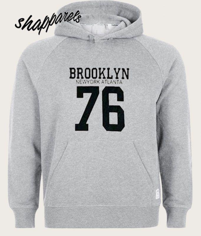 134713b4c Brooklyn Newyork Atlanta 76 Hoodie   shapparels   Hoodies, New York ...