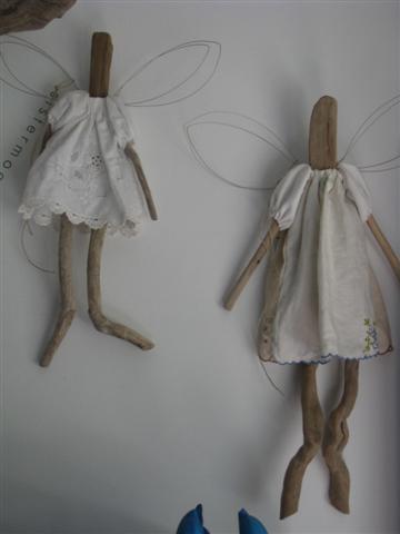Driftwood angels :)