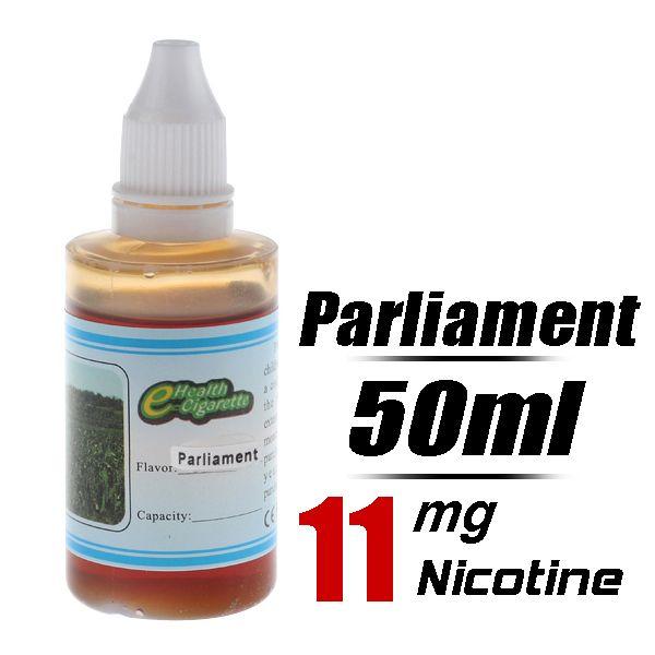Quit Smoking 50ml Flavor strength Medium 11mg/g Electronic Cigarette Liquid (Parliament) - Harmless top quality nicotine free e-cigarettes s...