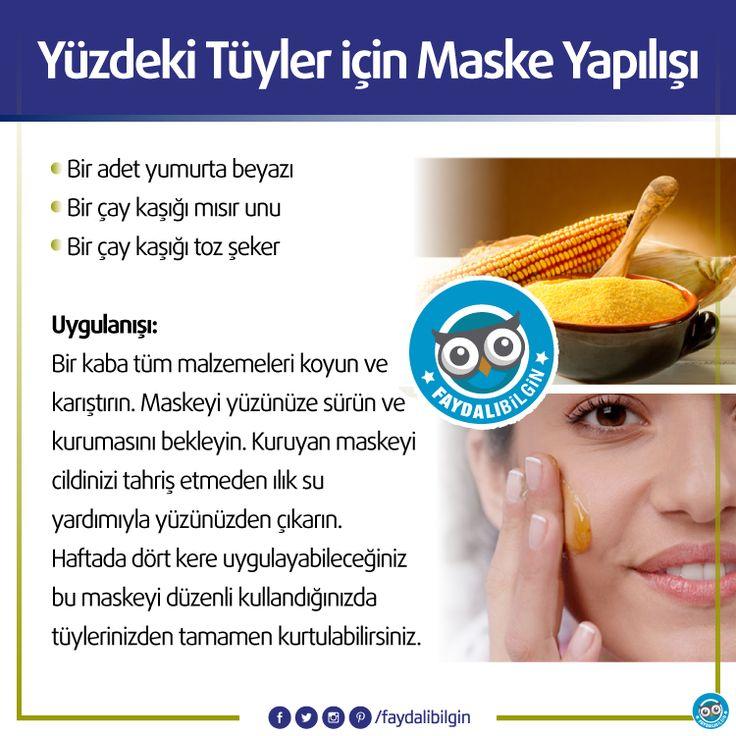 Natural home remedies for facial hair: 1 piece white part of egg, 1teaspoon corn flour, 1 teaspoon sugar.