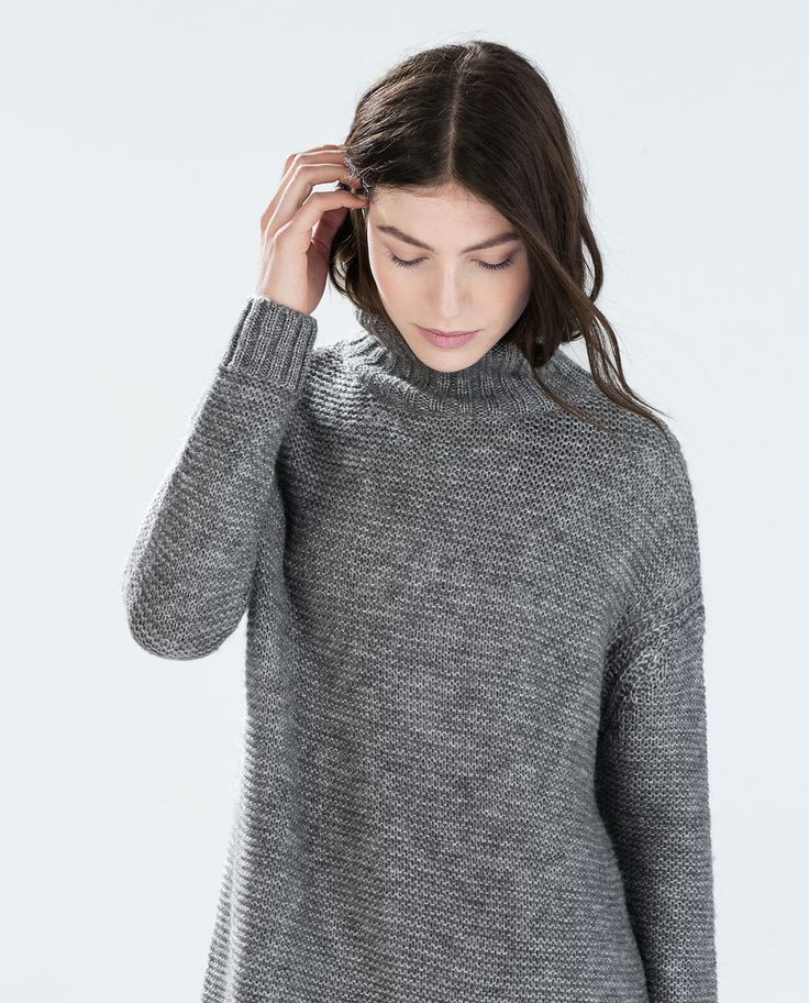 DETAILED KNIT TOP from Zara
