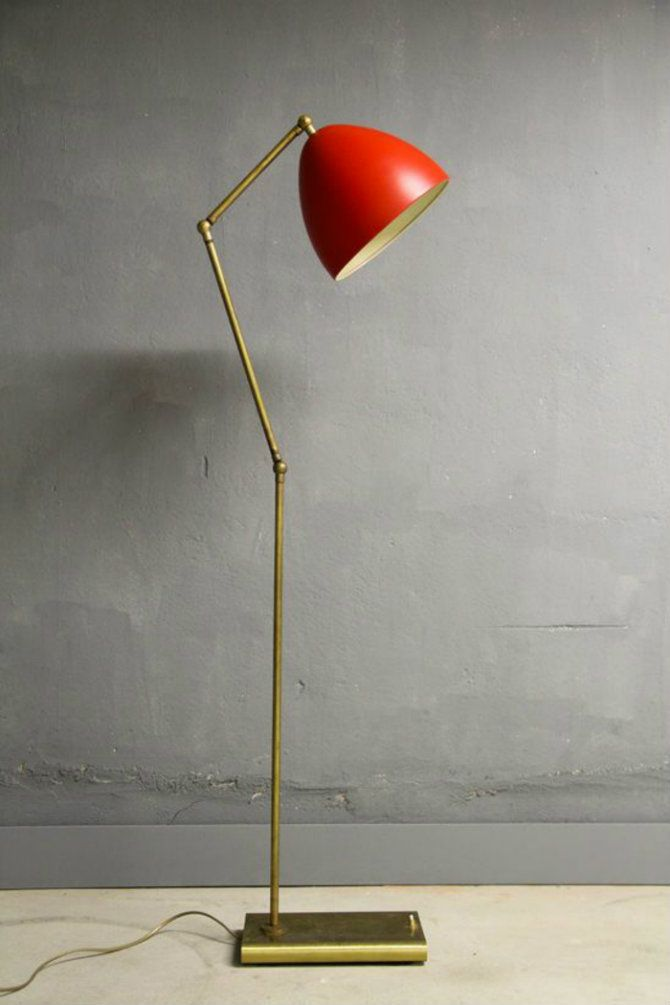 Red-Floor-lamps-for-your-home-designs-Brass-and-Enameled-Metal-Floor-Lamp1950s Red-Floor-lamps-for-your-home-designs-Brass-and-Enameled-Metal-Floor-Lamp1950s