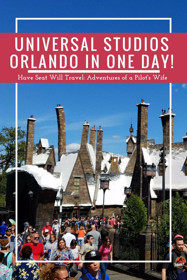 Short on time in the Theme Park Capital of the World? Click here and see how we did both Universal Studios Orlando parks in one day!