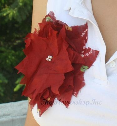 flower,brooch,fabric,diy