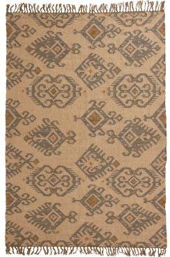 JACK matta 160x230 cm Naturmaterial i ljusa toner. Handvävt i 15% ull, 85% jute…
