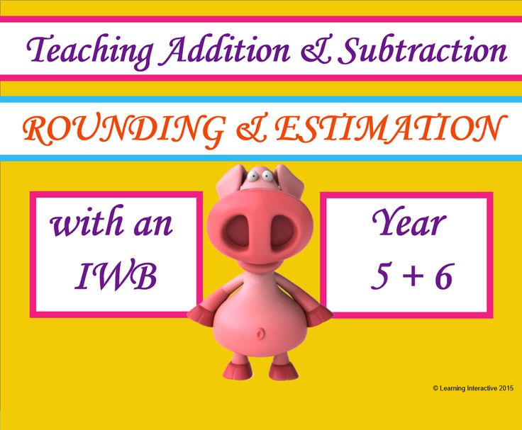 This interactive Year 5 & 6 Mathematics resource contains a 17 page SMART Notebook with a range of modelled, guided and independent activities designed to practise the skills of rounding and estimation when solving addition and subtraction questions. This Notebook also provides the opportunity to work with problem solving. Activities using drag and drop and pen tool included.  Worksheets and teacher notes are also included to help you get the best use of the resource. $12.95.