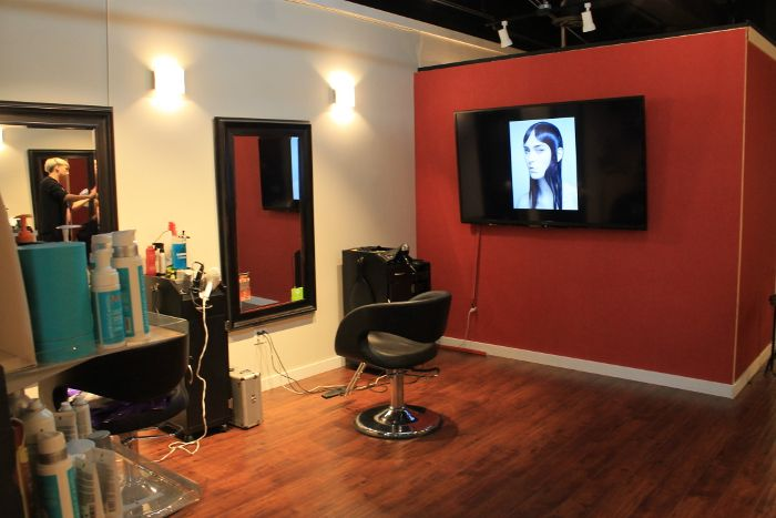 Our newly renovated hair salon in Burnaby, BC, on SFU's campus!