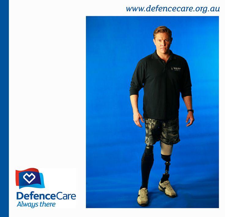 Afghanistan and 2Commando veteran Damien Thomlinson has become a DefenceCare Ambassador.