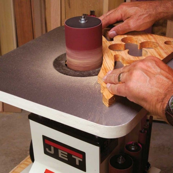 Jet® Benchtop Oscillating Spindle Sander - I was very impressed with the machine and performance. It blows away the Delta and is a great stand in for the floor model.