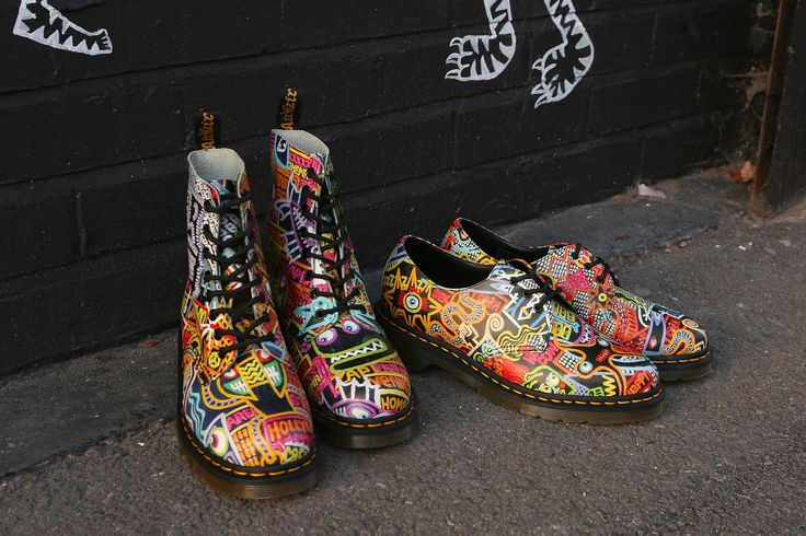 Artwork by Mark Wigan. Head to the Dr Marten's website to check out the collaboration.