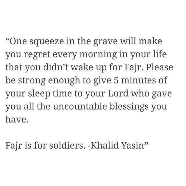 Fajr is for soldiers.