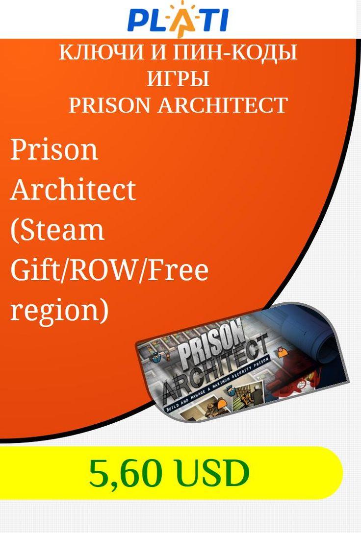 Prison Architect (Steam Gift/ROW/Free region) Ключи и пин-коды Игры Prison Architect