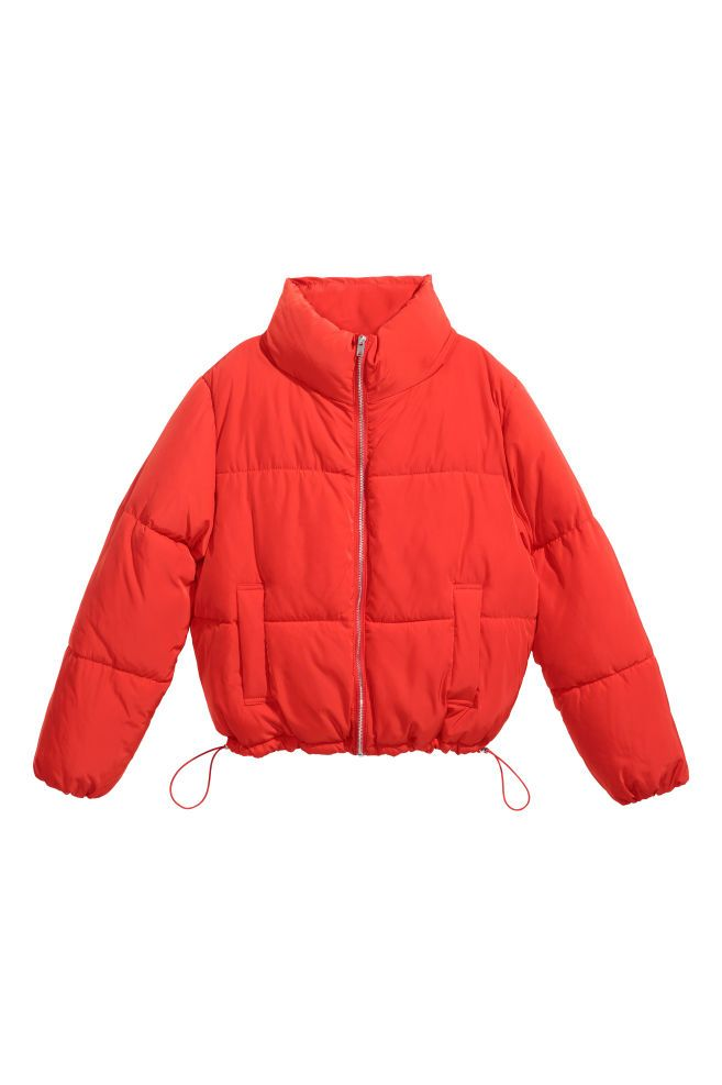 Padded Jacket - Red - Ladies  433d3c5aef7e2