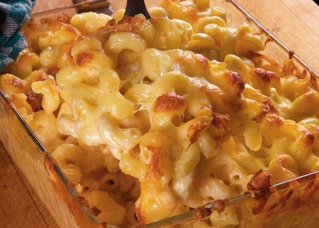 Mac & Cheese With Soubise Recipe - Mac 'n cheese gets a French white ...