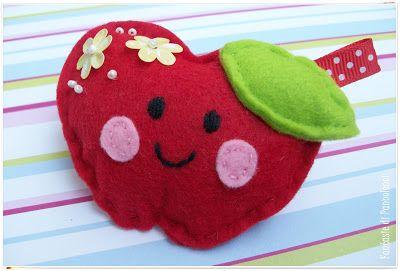 mela portachiavi