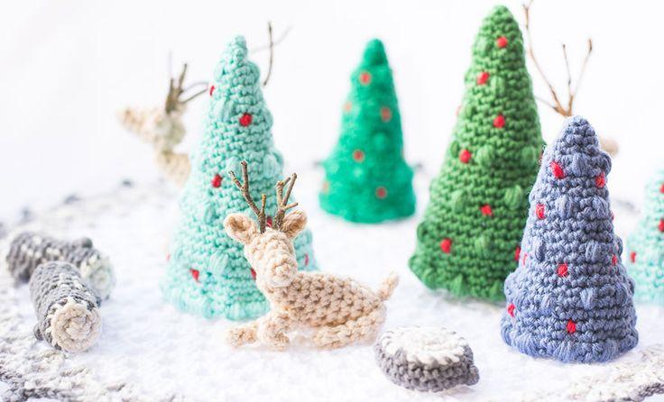 Amigurumi Christmas - Tutorial ❥ 4U hilariafina http://www.pinterest.com/hilariafina/