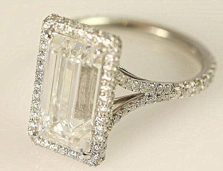 Stunning F/VVS2  1.50 carats total  Emerald Cut by BeautifulPetra, $3,500.00