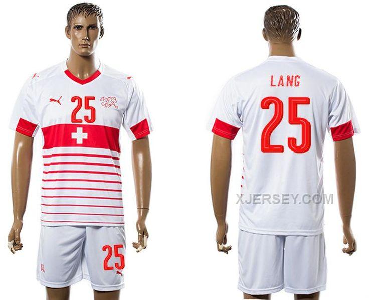http://www.xjersey.com/switzerland-25-lang-away-euro-2016-soccer-jersey.html Only$35.00 SWITZERLAND 25 LANG AWAY EURO 2016 SOCCER JERSEY Free Shipping!