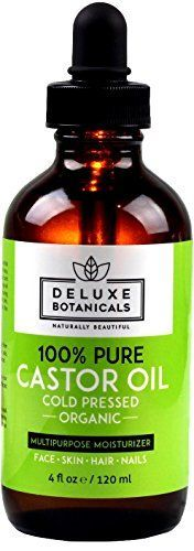 100 Pure Organic Castor Oil 4 oz  Unrefined Cold Pressed  Hexane Free  Best for Hair Growth Eyelashes Acne Moisturizer  Natural Skin Care Treatment >>> Be sure to check out this awesome product.
