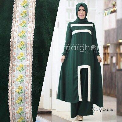 Kiyora by Marghon set kulottunik  pasmina  Bahan ity crepe kombinasi renda katun bunga Allsize LD 100  Retail: 375.000 Reseller 355.000 est. ready 10 Des  Dp 50% = Booking  Line @kni7746k  Wa 62896 7813 6777  #pin #kiyorabymarghon #hijaboftheday #ottdhijabbranded #otthijab #muslimahwearindonesia