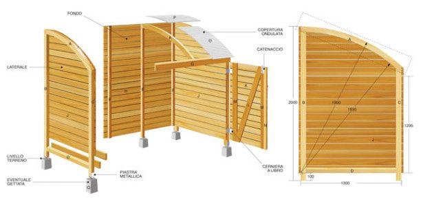 Oltre 25 fantastiche idee su deposito biciclette su for Quanto costruire un piccolo garage