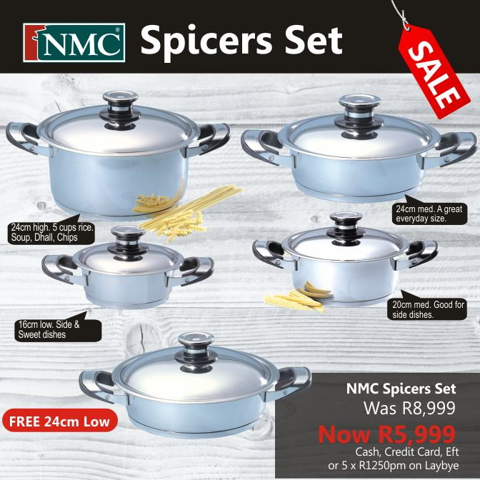 Cookware Sets : Spicers Set