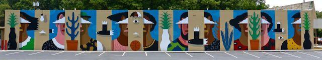 """Wallter"", a new mural by Agostino Iacurci in Atlanta, USA"